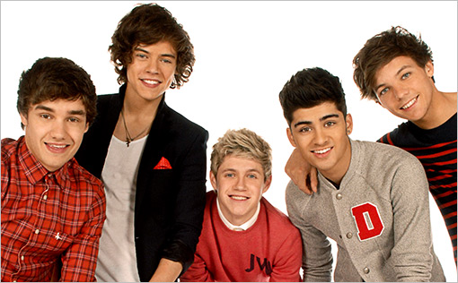 The boy band One Direction.