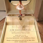 "Kim Kardashian's music-box baby shower invites feature a lullaby version of Kanye's ""Hey Mama"""