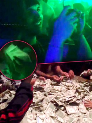 Rihanna and Drake spend $10,000 in cash on One Stripper