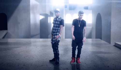 "Tyga ft. Justin Bieber ""Wait For A Minute"""
