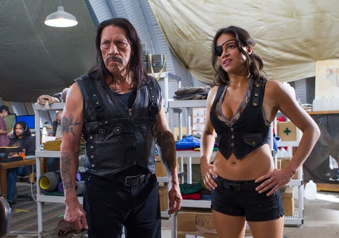 Danny Trejo Says Michelle Rodriguez Could Kick Justin Bieber's Ass