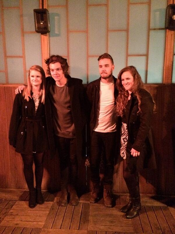 One Direction Takes Two Contest Winners To Dinner
