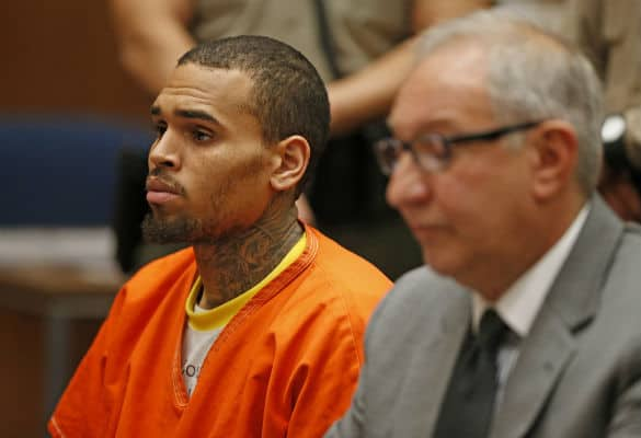Chris Brown is reportedly in solitary confinement