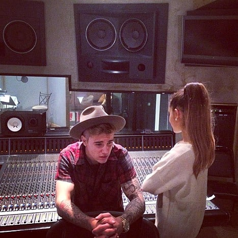 Ariana Grande confirms duet with Justin Bieber