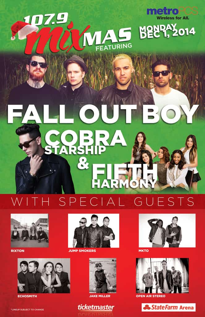 Mixmas 2014 feat. Fall Out Boy & Fifth Harmony