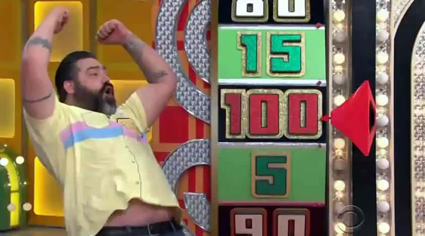 "A Guy Dances Weirdly After He Gets Two Good Spins on ""The Price Is Right"""