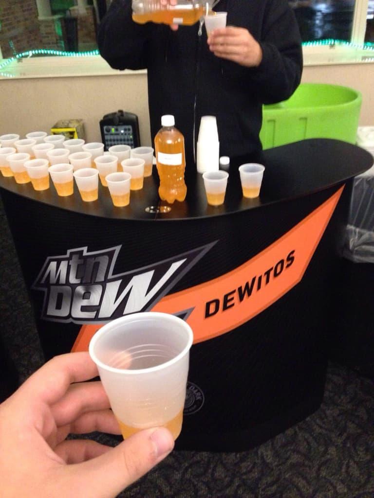 Dewitos . . . Dorito-Flavored Mountain Dew?