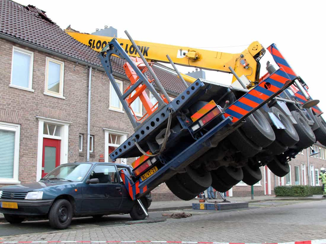 NETHERLANDS CRANE ACCIDENT