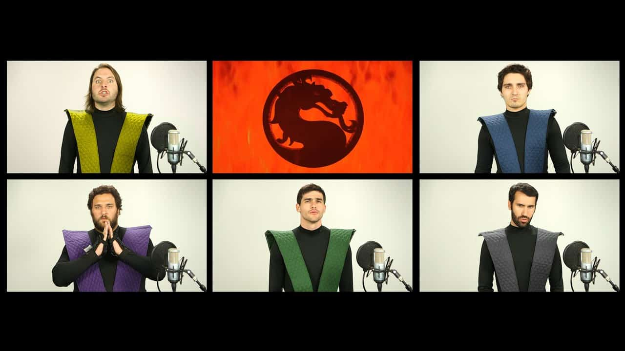 MORTAL KOMBAT THEME SONG ACAPELLA!