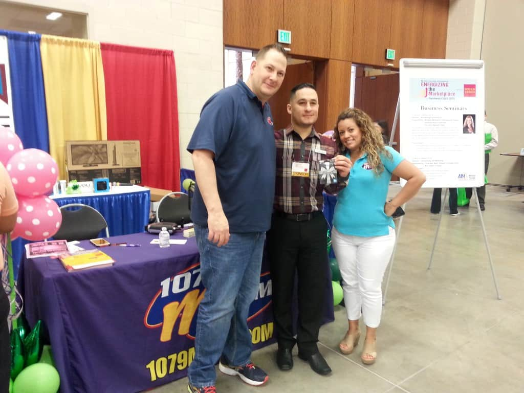 107.9 Mix FM McAllen Business Expo Gift Card Winner