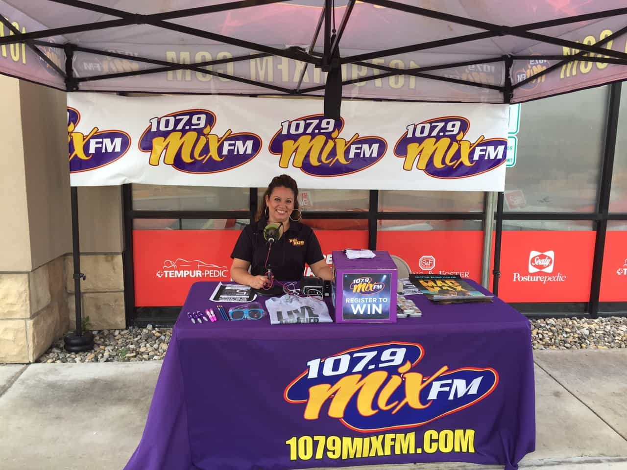 Grand Opening Mattress Furniture with 107.9 Mix FM : 107.9 Mix FM KVLY107.9 Mix FM KVLY