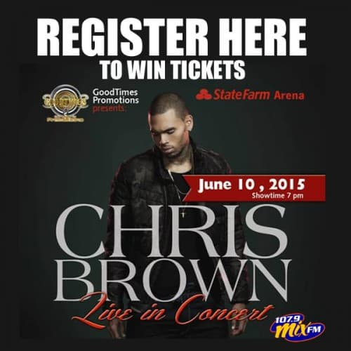 Register to Win Chris Brown Tickets