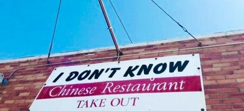 "A Woman Named Her Restaurant ""I Don't Know"" . . . Because That's Where Her Kids Always Say They Want to Go"