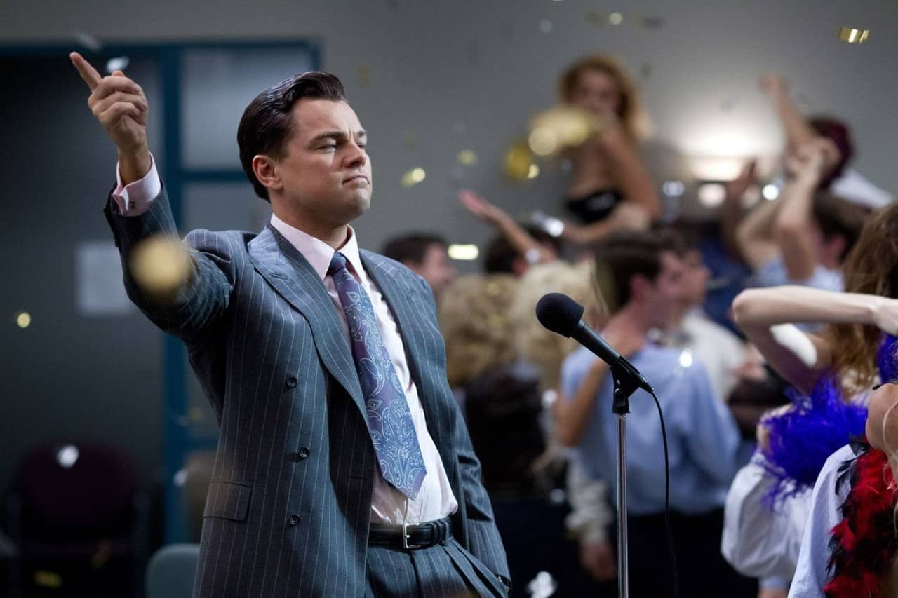 Screen shot of Wolf of Wallstreet