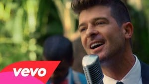 Back Together Robin Thicke (official video)