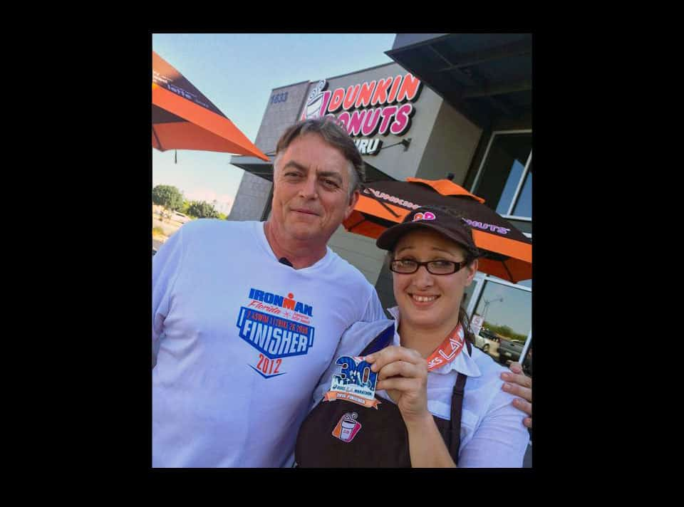 Ironman Athlete Saved by a Dunkin' Donuts Employee