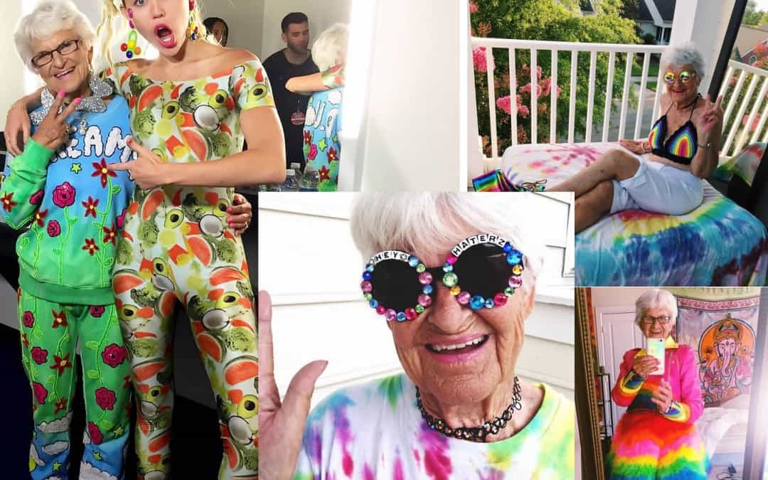 87-Year-Old Woman with 1.6 Million Instagram Followers