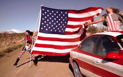 God bless America! Here's an average American's day