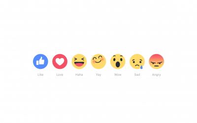 "Facebook Is Testing ""Reaction Emojis"""