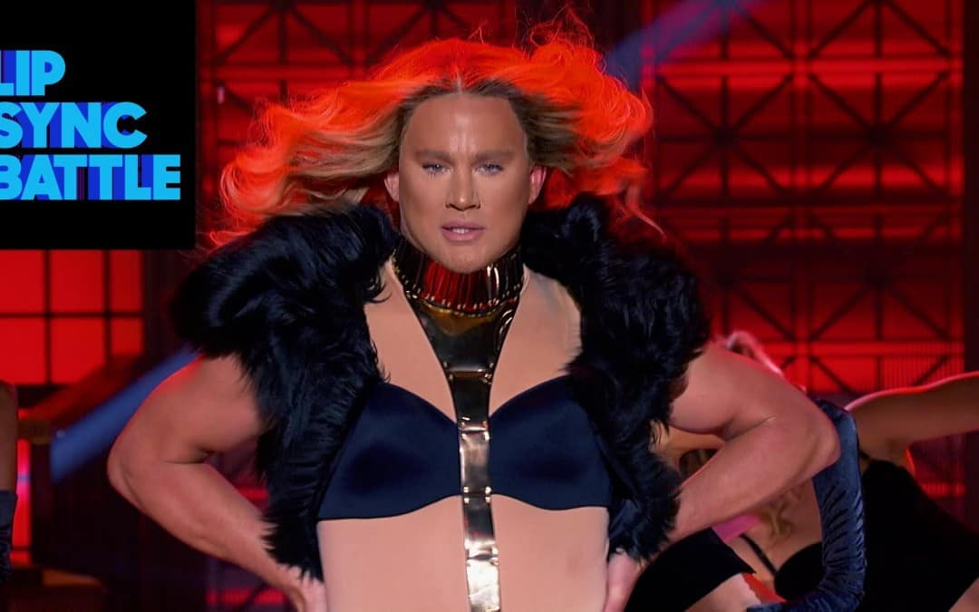 You've got to see this Channing Tatum Epic Lip Sync Battle! Who do you think won?